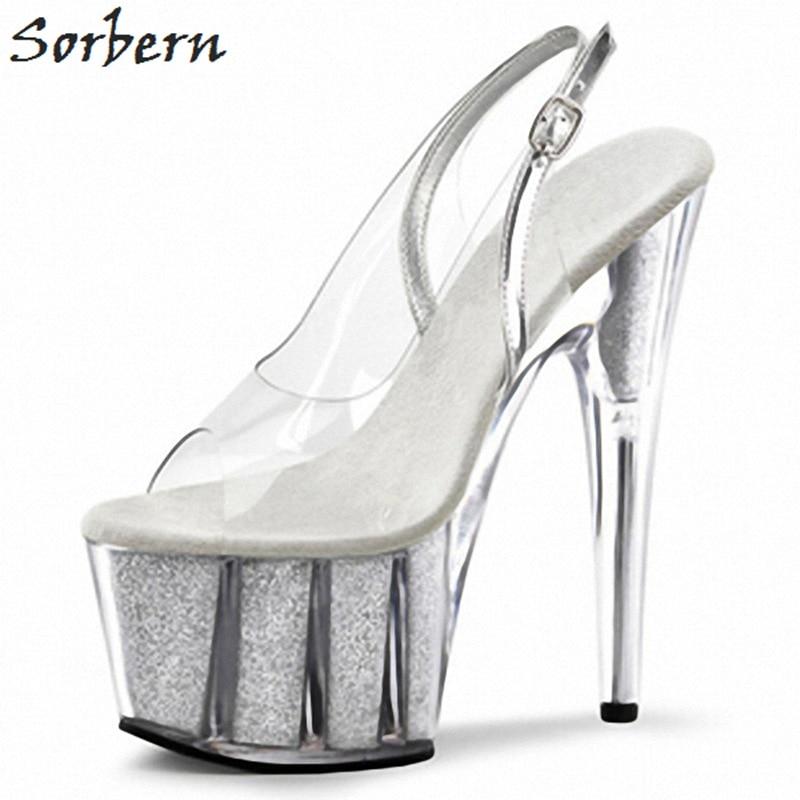 Women/'s Zipper Peep Toes Slingbacks Sandals Ladies Block Heel Shoes Size 5-8.5
