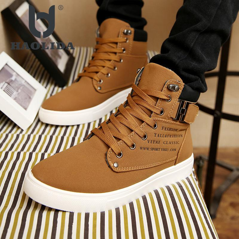 New Pattern 2018 Autumn And Winter Fashion Casual Shoes High Quality Non-slip Soft And Comfortable Ventilation High Gang Shoes