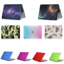 laptop case  for Apple MacBook 12 inch Crystal/Matte/Rainbow/Printing Case Cover model A1534
