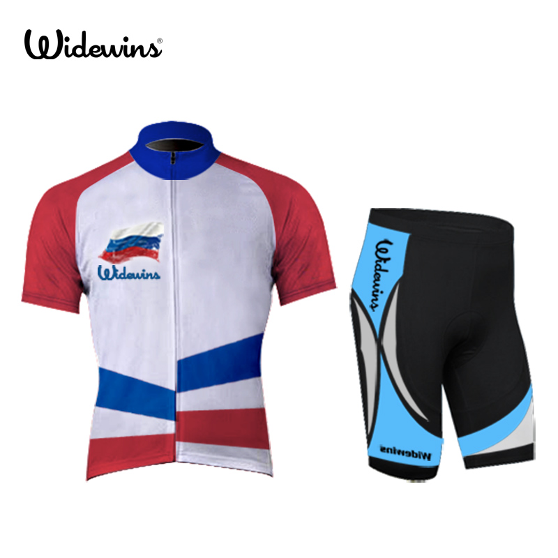 Hot Sale Russia Men s Cycling Jerseys 100% Polyester Quick Dry Cycling  Clothing T-shirt Roupa Ciclismo 5006 794bc152a