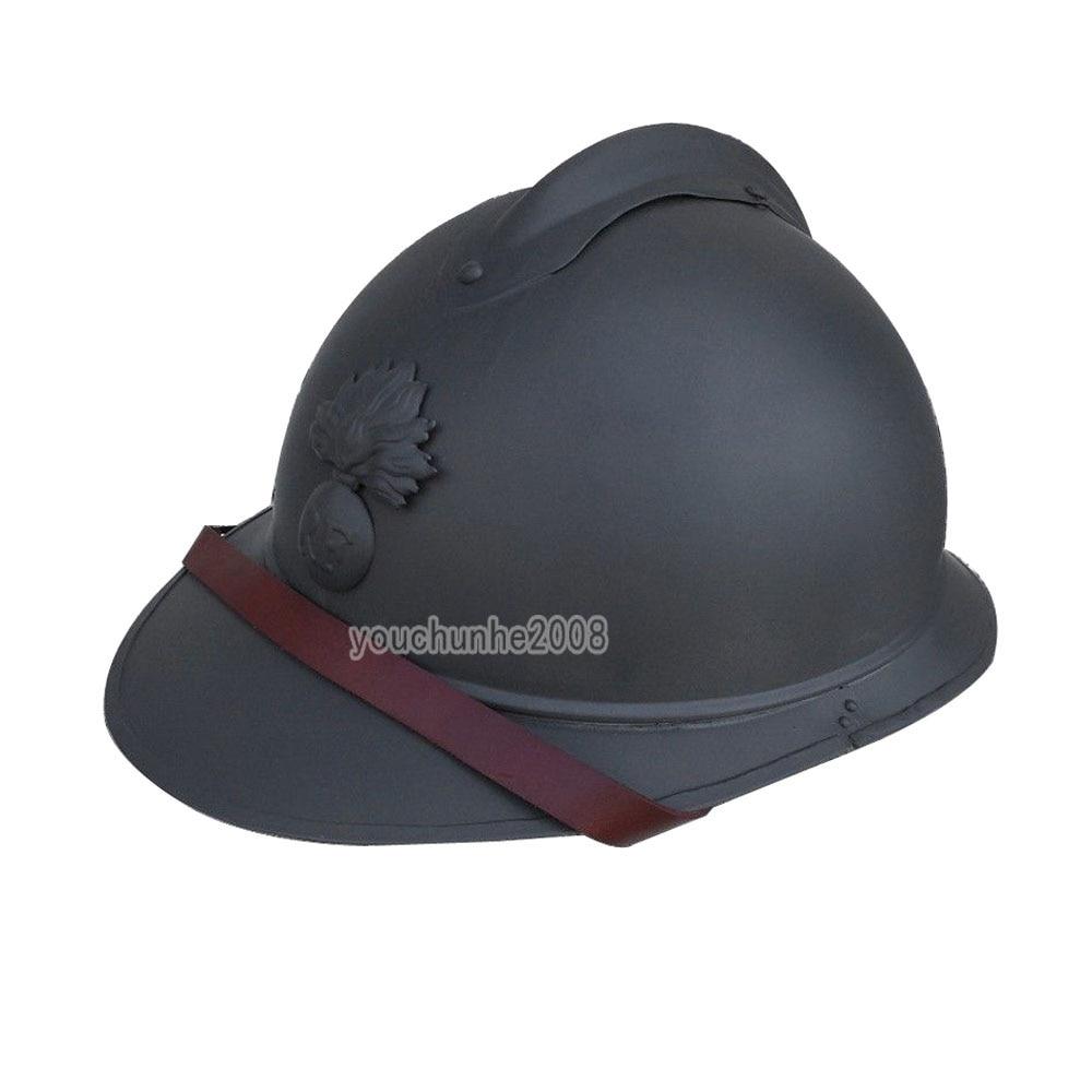 WWI WW1 French Adrian Helmet Steel Military Soldier M1915 M15 Infantry HELMET