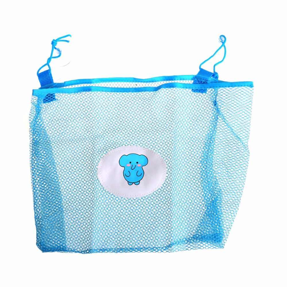 2017 juguete de baño para niños bolsa organizadora de almacenamiento cestas de succión de red bolsa de malla de baño para niños MAR6_30