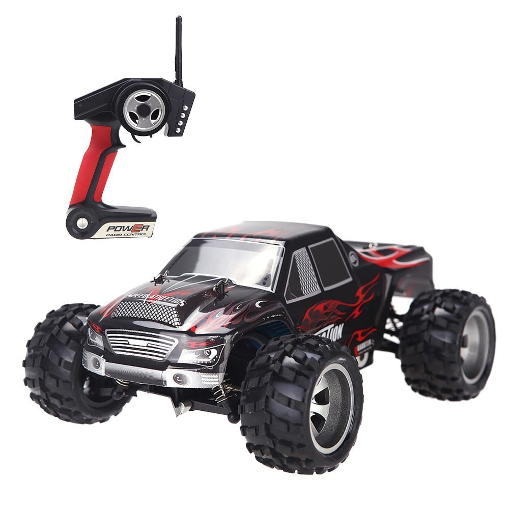 Machine On The Remote Control Wltoys A979 RC Car Wall Climbing 50KM/H Crawler 1/18 Electric 4WD 2.4GHz Radio-controlled Cars microgear radio controlled rc grasshopper flying in the air