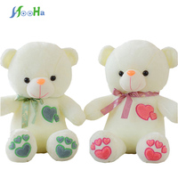 Kawaii Teddy Bear With Scarf Stuffed Plush Animals Brinquedos Baby Gift Girl Toys Wedding And Birthday Party Decoration 65cm