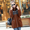 Plus Size XL-5XL 6XL Women Jacket  Coat New Autumn Winter Style Fashion Casual Dress Woman Sweatshirt Female Outerwear Top dress