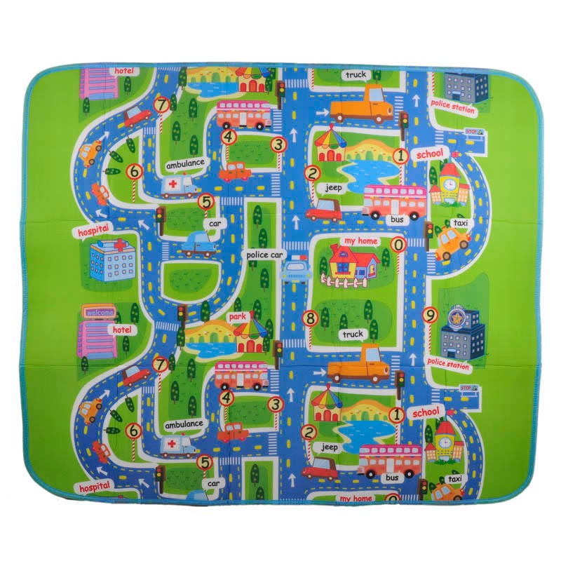 Activity Child Baby Puzzle Play Foam Mats Carpet Rug Blanket Children's Learning Educational Toys Hobbies Carpet Mat for Kids 3