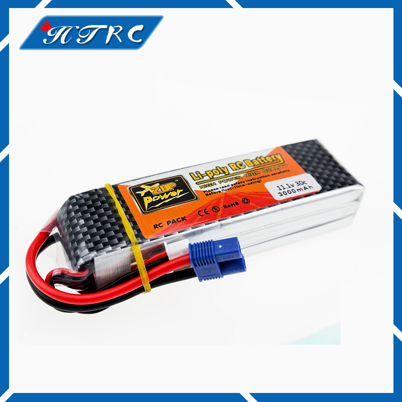 Lipo Battery 11.1v 3000mah 3S 30C EC3 T XT60 Plug Zop Power Polymer Lithium for RC Helicoper Drone 10 led car styling drl for kia k2 rio 2011 2012 2013 2014 daytime running lights high quality free shipping