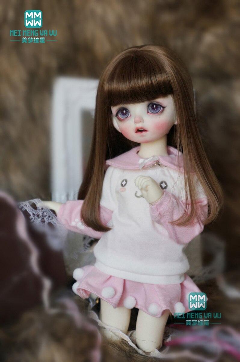 BJD Doll Clothes Fit 30cm 1/6 BJD Dolls Sweatshirt, Ball Skirt, Shawl, Socks