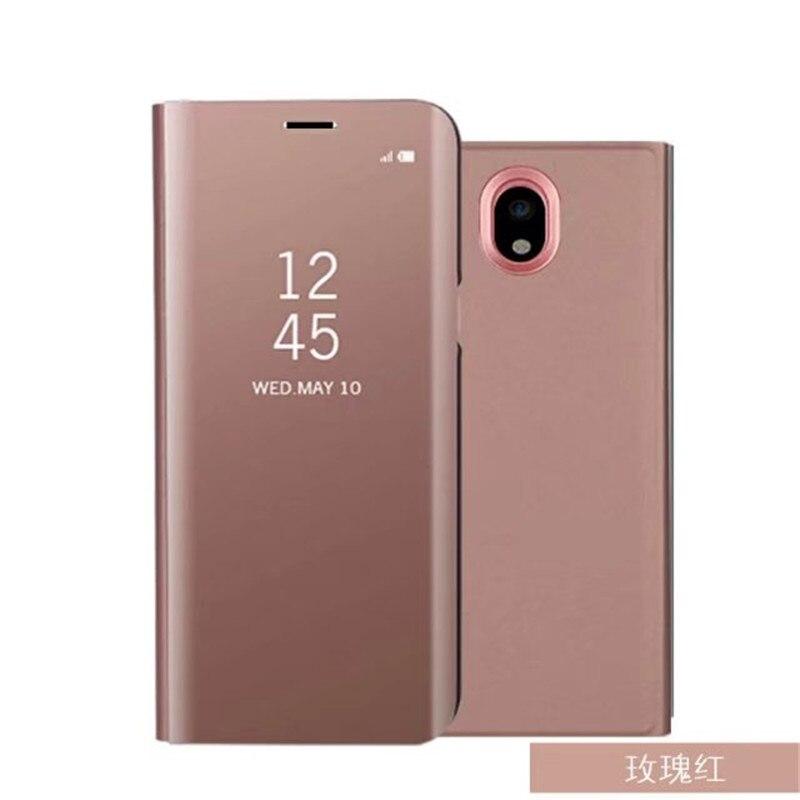 Flip Ständer View Smart Spiegel Telefonkasten Für Huawei P20 Lite P20 Pro P10 P9 P8 lite 2017 Abdeckung Für Samsung S9 S8 A3 A5 J5 2017