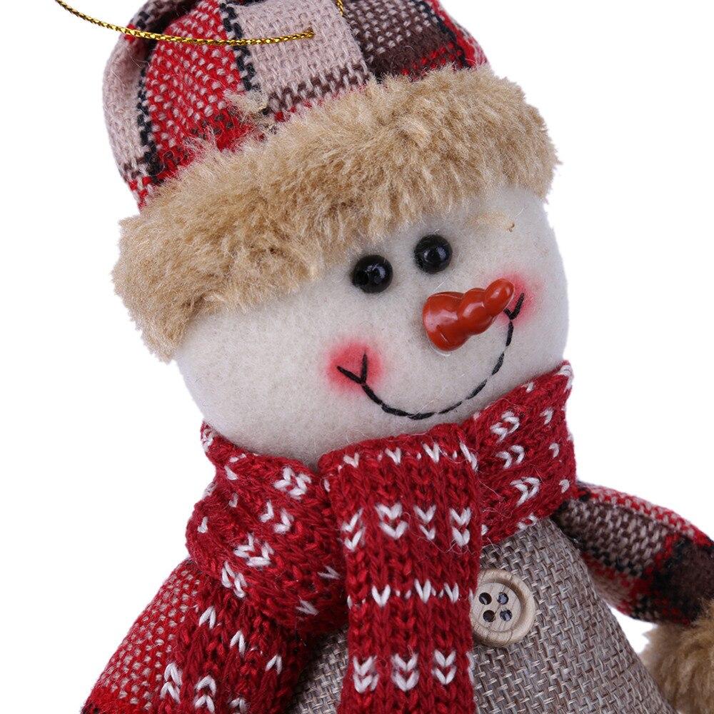 ראש השנה חמוד חג שמח עץ קישוטים מושב - צעצועים ממולאים