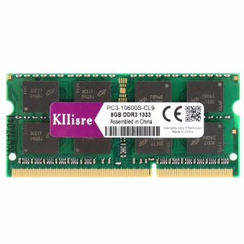 Kllisre DDR3 8GB 1333MHz 1600Mhz 204-Pin Laptop RAM SO-DIMM Notebook Memory