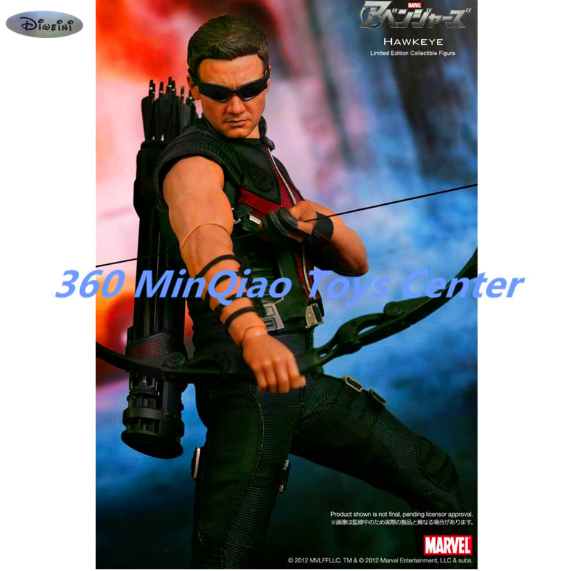 Avengers: Age of Ultron Hawkeye 1.0 1/6 MMS172 Action Figure Collectible Model Toy RETAIL BOX WU819 avengers movie hulk pvc action figures collectible toy 1230cm retail box