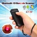Frete Grátis! Atualizado Mini CT30 Barcode Scanner Sem Fio Bluetooth para IOS Android Janelas 1D Barcode Scanner A Laser Sem Fio