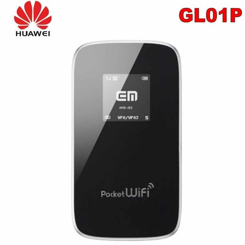 100% Original Unlock LTE HUAWEI GL01P 4G Roteador Sem Fio E Wi-fi Hotspot Móvel como E589