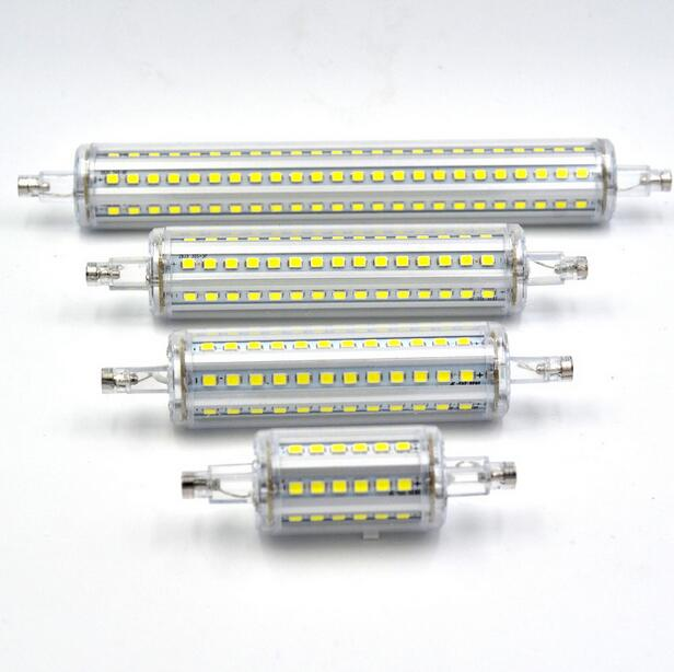 Newest Dimmable <font><b>R7S</b></font> Bulb 220V 5W 79mm 10W <font><b>118mm</b></font> 12W 135mm 15W 189mm <font><b>Bombillas</b></font> <font><b>led</b></font> Lamp SMD2835 <font><b>led</b></font> light For Lawn Floodlight image