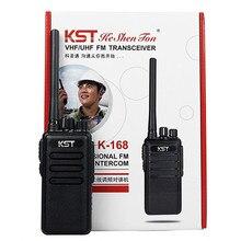NEW Radio Walkie Talkie KST K-168 UHF 400-470MHz 8W 16CH CTCSS/DCS VOX Portable Ham Radio Transceiver
