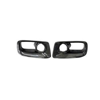 Auto Accessoires Voor Nissan Skyline R33 95-97 GTR Carbon Fiber Grens Voorbumper Luchtkanaal Glossy Fibre Racing vent Kit Trim