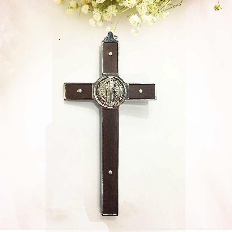 Jesus Christ Cross Religious Hanging Wall Wood Cross Christian Church Latin Cross Crucifix Rood Jesu Keepsake Catholicism