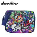 New Arrive Splatoon Student Satchel Messenger Bag Japan Preppy Style Nylon Schoolbags For Boy Girl