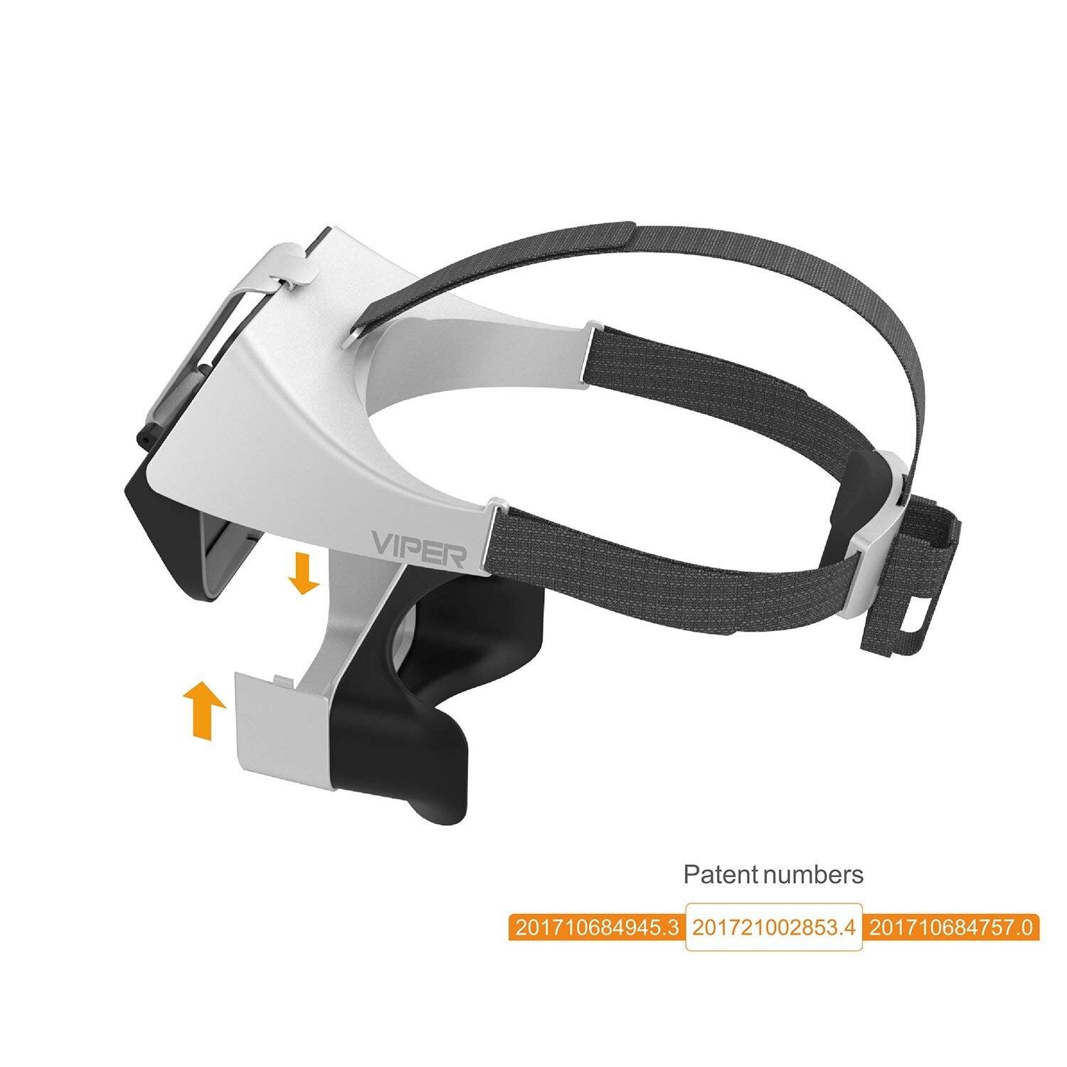 FXT VIPER Versione 2.0 5.8G Diversità HD FPV Video Occhiali con DVR Built In Rifrattore per RC Drone Quadcopter FPV accessoriess - 4