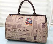 Heiße Verkäufe Weiblichen Große Kapazität Qualität Gepäck Duffle Taschen Beiläufige Handtasche Frauen Reisetaschen
