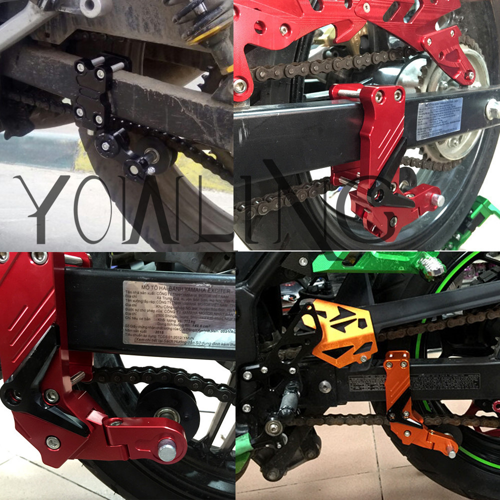 Aprilia Tuono 50 2004 stainless steel rear drive chain tensioner adjuster bolts