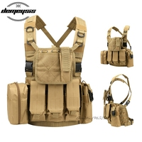Tactical Vest War Game Battle Military Molle Vest Outdoor Police Tactical Vest Camouflage Military Body Armor