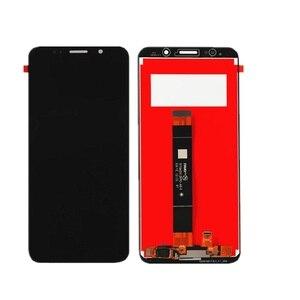 Image 3 - 5.45 display display lcd para huawei y5 lite 2018 DRA LX5 montagem do painel de toque da tela lcd peças telefone