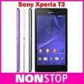 "Original Sony Xperia T3 D5103 Abrió El Teléfono 5.3 ""Quad Core Táctil Screen1GB RAM 8 GB ROM 3G y 4G GSM WIFI GPS Teléfono Android"