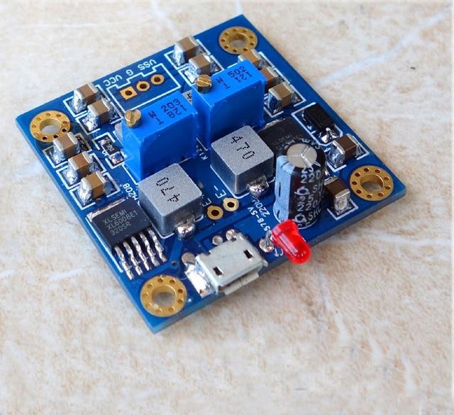 HIFI низкий уровень шума одиночное напряжение для положительного отрицательного регулируемого блока питания Usb интерфейс или DC 8-В 18 в В 12 В