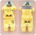 Осень - лето зима одежда комплект для мальчик, Дети / дети младенцы, Спорт костюм, Длинный рукав tshirt + брюки костюм