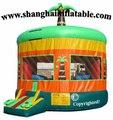 Venda quente lona de PVC castelo inflável comercial, Casa do salto playground indoor china