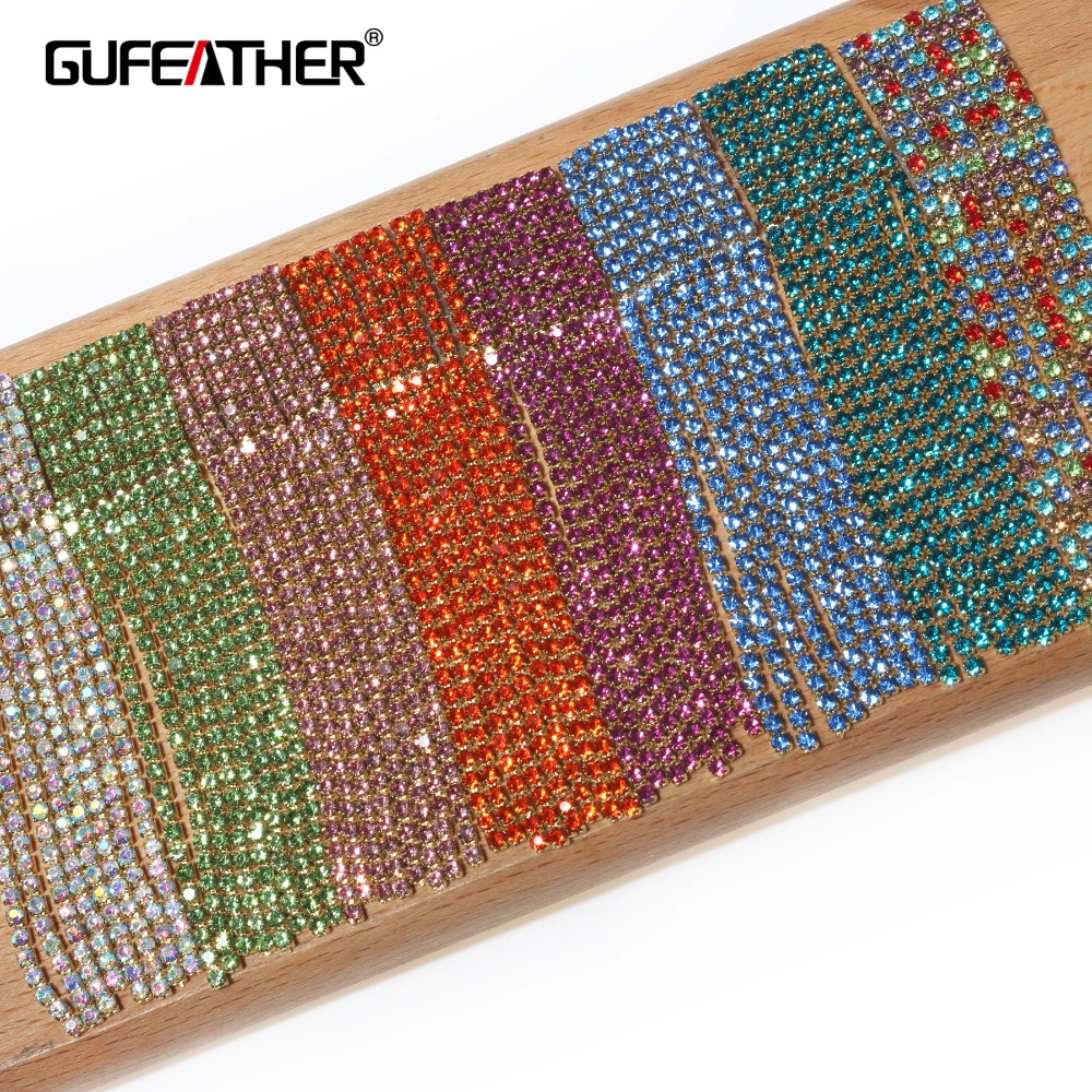 GUFEATHER M316,jewelry Making,diy Jewelry Accessories,jewelry Findings,accessory Parts,charms,rhinestone,hand Made,4m/pack