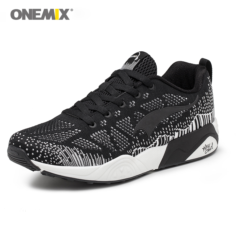 New Arrival onemix Classics Style Men Running Shoes Light Breathable Sports Sneaker for Walking Outdoor Jogging Sport Shoes 2017 new spring imported leather men s shoes white eather shoes breathable sneaker fashion men casual shoes