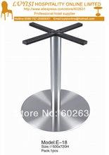 Качественная основа стола из полированной нержавеющей стали