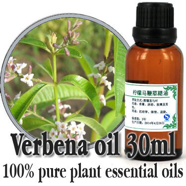 Free shopping100% pure plant essential oils Lemon verbena oil 30ml Antibacterial Facilitate digestion Soft skin Insecticidal