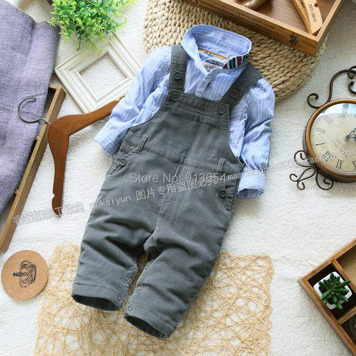 Free shipping new 2015 spring autumn kids overalls baby boy bib pants baby clothing casual child jumpsuit new 2013 spring autumn baby denim overalls baby clothing girls flowers bib pants child snap button open crotch jeans jumpsuit