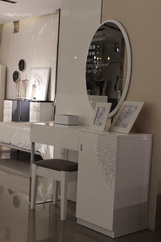 Simple europ enne meubles peinture blanche s rigraphie for Coiffeuse meuble en anglais