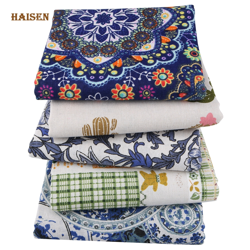Apparel Sewing & Fabric Home & Garden Brilliant 50x150cm Diy Fabric Cloth Handmade Sewing Patchwork Flowers Cotton Sofa Curtain Pillow Cover Tablecloth Bedding Bag Doll Textile