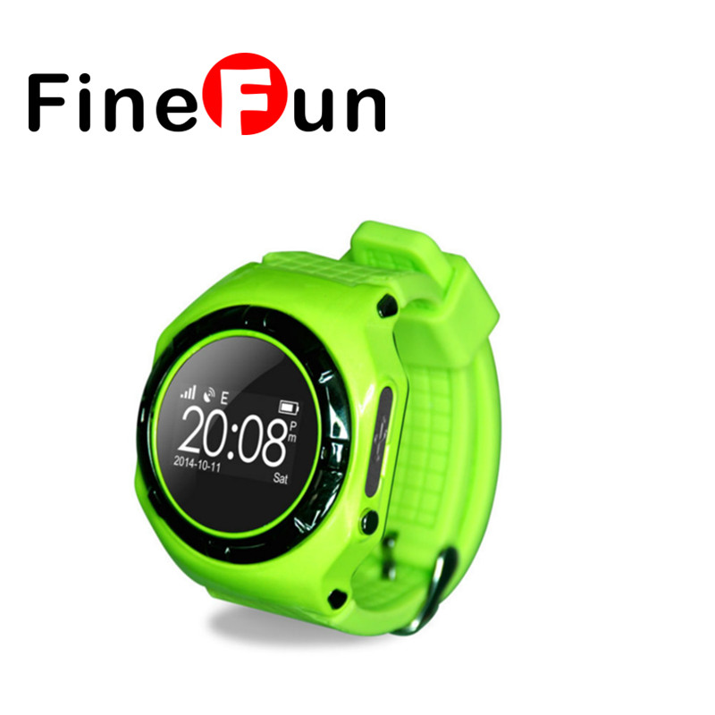 FineFun Children Smart Watch SOS Alarm GPS Positioning Support SIM Card Is Compatible With IOS Android - To Give Children Gifts new children smart watch kid boy girl bluetooth smartwatch phone gps positioning sos monitoring support sim card for ios android