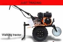 Mini gasoline engine walking tractor hand push multipurpose rotary tiller weeder cultivator plough