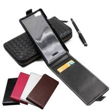 Классические роскошные advanced топ кожа флип красочный кожаный чехол для Wiko лихорадка 4 г телефон случаях Обложка с карт памяти