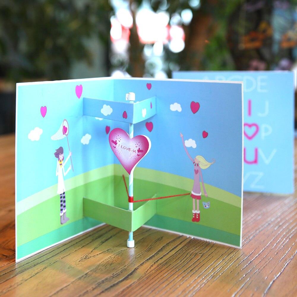 День святого валентина 3д открытку, самодельные красивые открытки