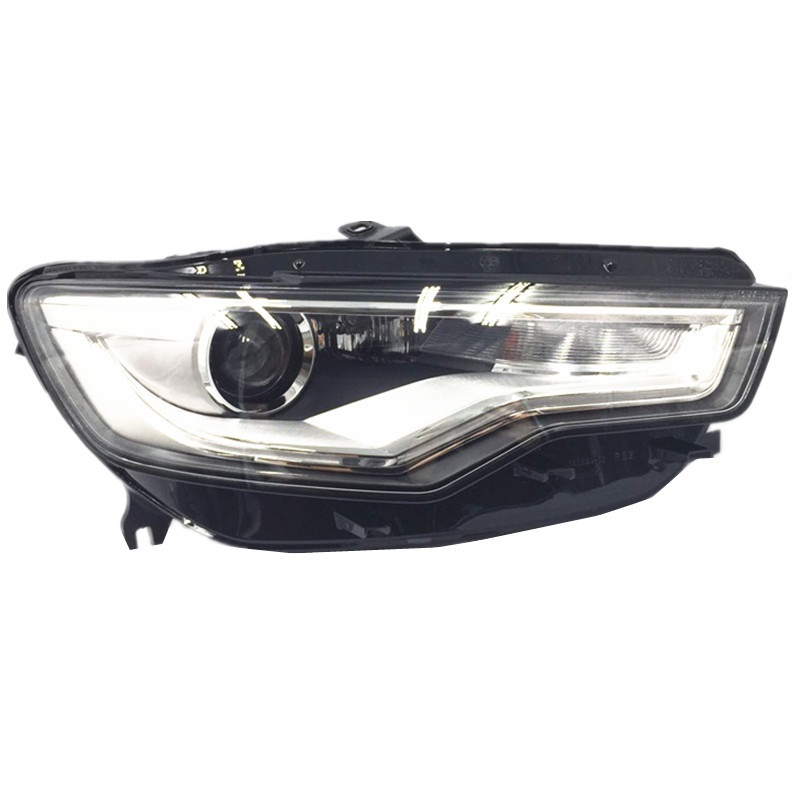 Car Styling for AUDI A6 C7 Headlights Front Head lamp light 2013 2016 for AUDI A6 C7 DRL Daytime Running Light Bi Xenon HID
