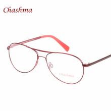 Chashma Clear Glasses Retro Eyeglasses Metal Myopia Eyewear Women Men Spectacle Frames Optical Frame Transparent Lens