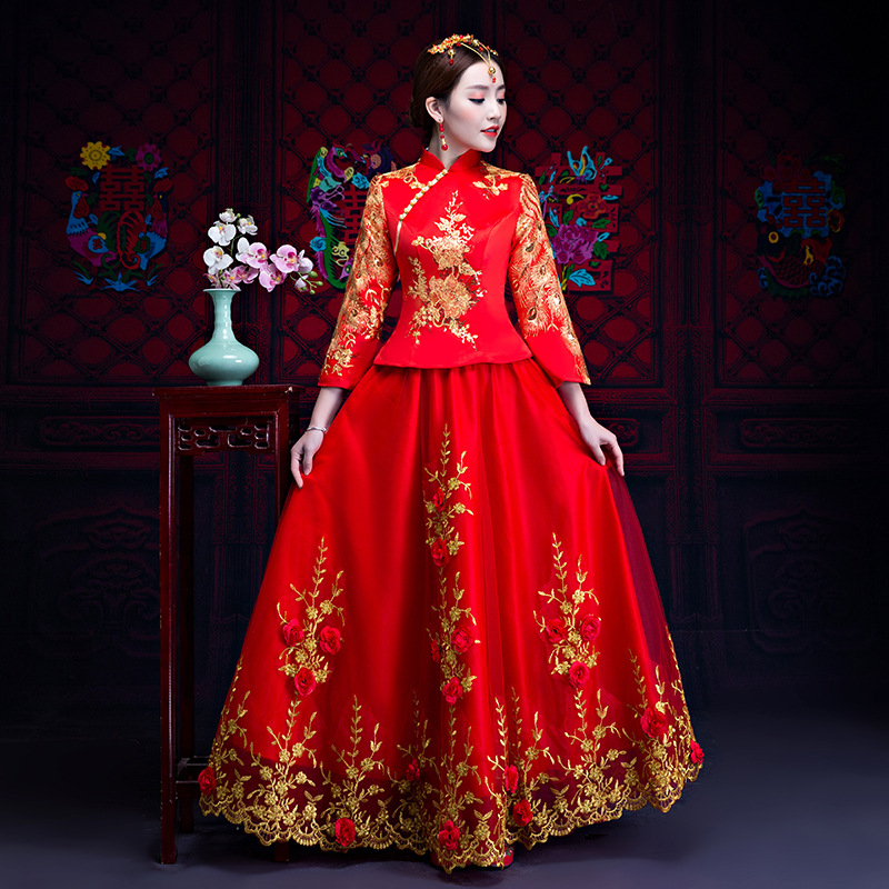 Women Asian Embroidery Dress Other Women's Clothing Clothing, Shoes & Accessories