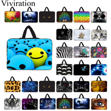 "10 ""Tablet 10,1 9,7 12,1 Netbook Nylon bolsas funda 13"" 14 ""15"" 17 ""Laptop unisex maletín para Macbook Air Pro LapBook 15,6"