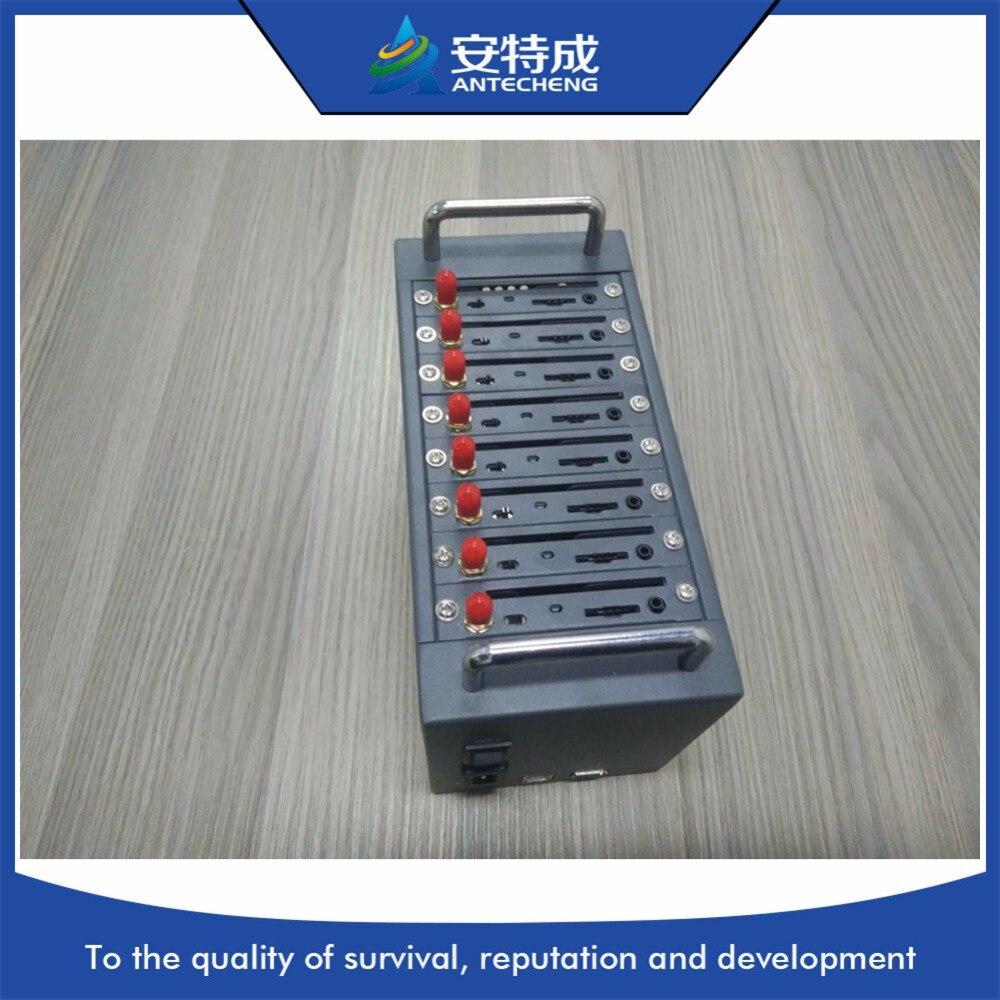 Menor modem 4g, sim7600ce 4g lte modem Simcom, AT command 8 port 4g modem piscina para SMS em massa