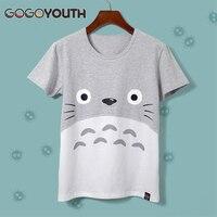 Harajuku Kawaii Totoro T Shirt Women 2016 Summer Short Sleeve Cotton T Shirt Female Poleras Tshirt