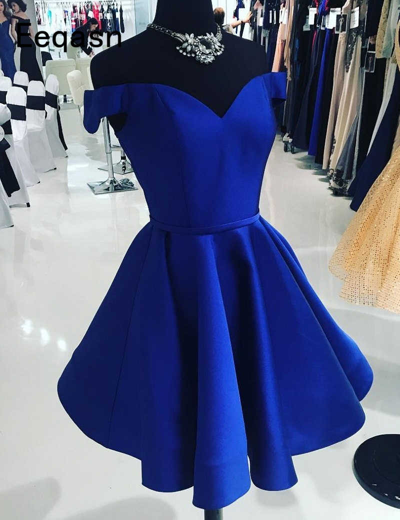 7d3aa7f15ca15 Detail Feedback Questions about Short Royal Blue Cocktail Dresses ...